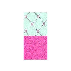 Vintage French Silk Hot Pink F18 Silk