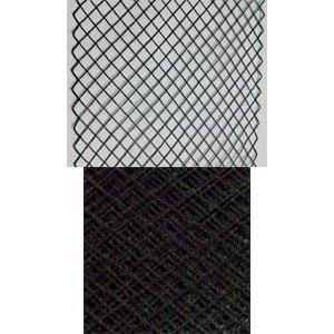 Vintage Ribbon Veiling 5 Black