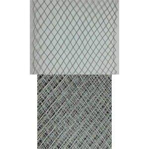 Vintage Ribbon Veiling 5 Grey