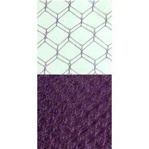 Vintage Silk Petite Web 18 Purple