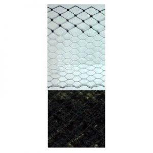 Vintage Silk Ribbon Veiling 4 5 Black