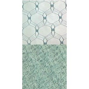 Vintage Silk Web 18 Aqua