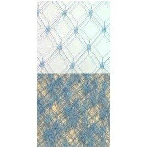 Vintage Silk Web 18 Blue