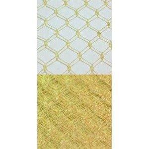 Vintage Silk Web 18 Golden Yellow