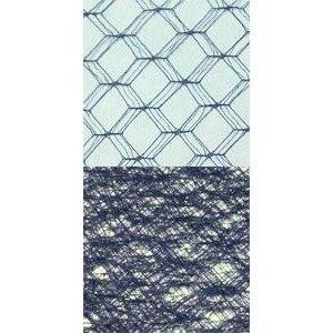 Vintage Silk Web 18 Navy 24025