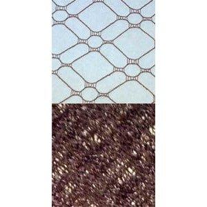 Vintage Silk Web 18 Rust