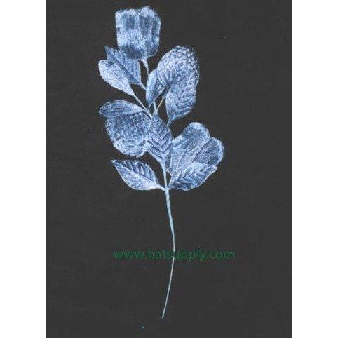 Vintage Velvet Dior Blue Leaf & Strawberry Spray