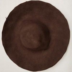 Western Wool Hat 6x5x6 Brown