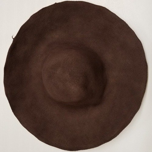 Western Wool Hat 6x5x6 Brown