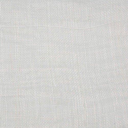 White 01 Unstiffened Sinamay