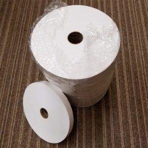 White Cotton Bias Binding Swatch