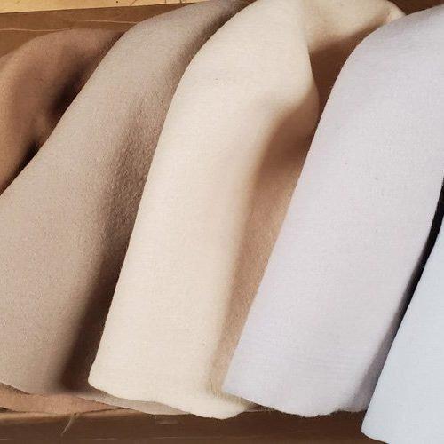 Wool Felt 5-6″ Capelines