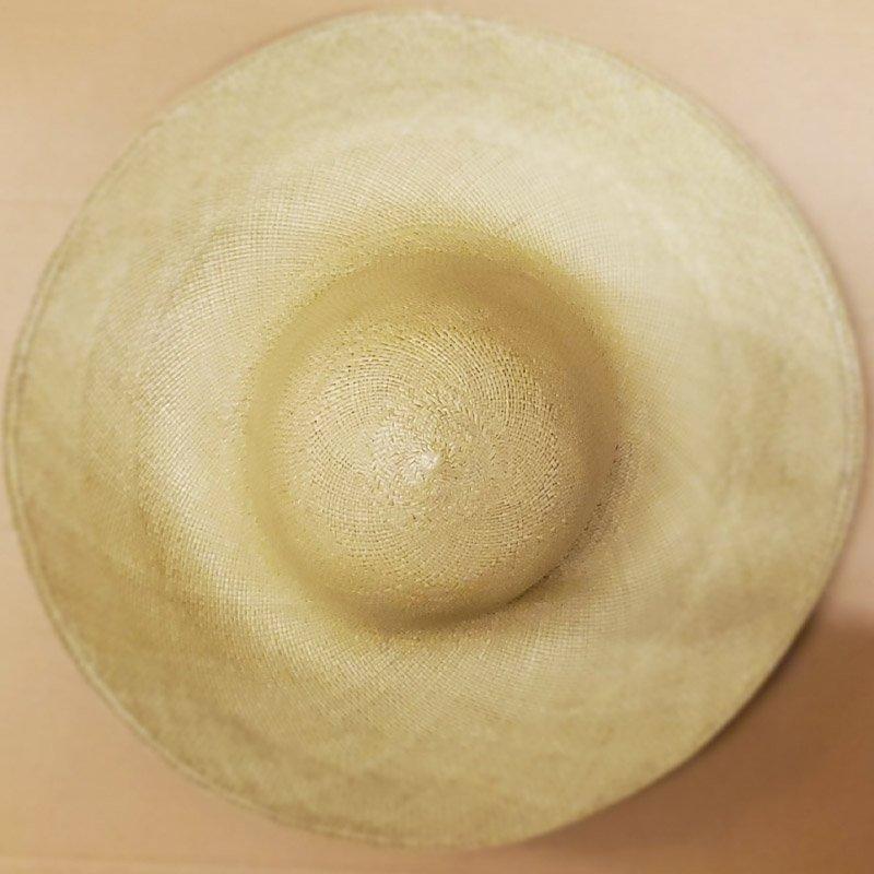 High Quality Panamas 4″ To 5″ Brims – Cream C02