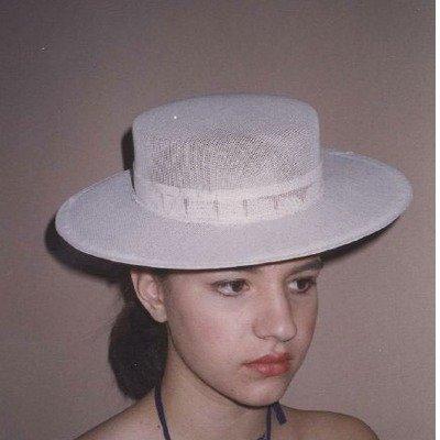 Theatrical Buckram Frame – Skimmer Or Spanish Hat